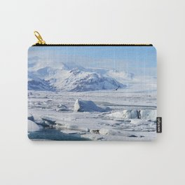 Bird in Iceland Carry-All Pouch