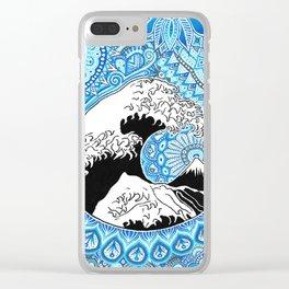 Kanagawa's wave Clear iPhone Case