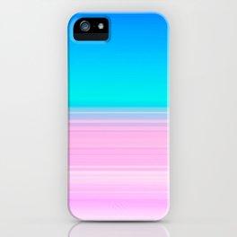 Unicorn Ombre iPhone Case