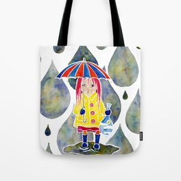 Miranda Holds The Sky In Her Hands Tote Bag