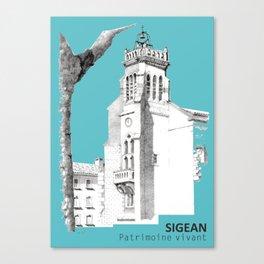 Sigean, patrimoine vivant Canvas Print
