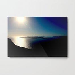 Caldera, Santorini Metal Print