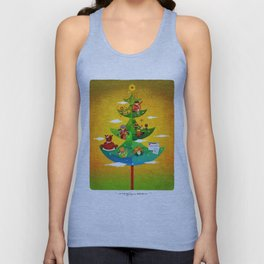 A Very Filipino Christmas Unisex Tank Top