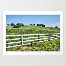 The Ranch Art Print