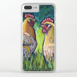 Buff Orpington Morning Clear iPhone Case
