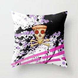 Skull Slice I Throw Pillow