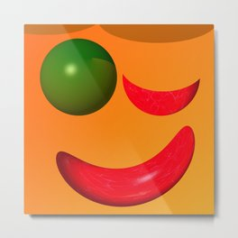 Keep smiling ... Metal Print