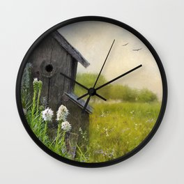 Little Bits Of Good - Vintage Art Wall Clock