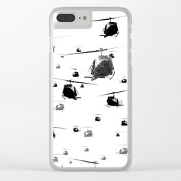 THE HELICOPTERS Clear iPhone Case
