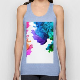 color boom Unisex Tank Top