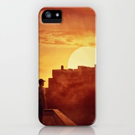 sunset mystery iPhone Case