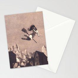 Flight To The Sabbath William Mortensen Stationery Cards