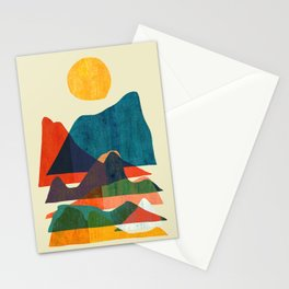 Everything is beautiful under the sun Stationery Cards