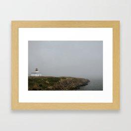 Brier Island Lighthouse Framed Art Print