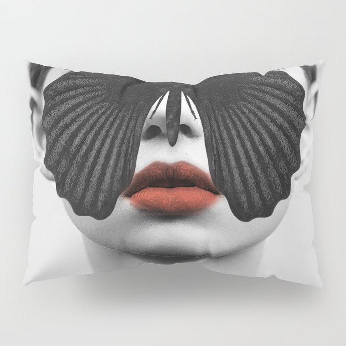 BLACK BUTTERFLY Pillow Sham