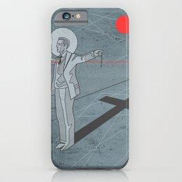 Father Pro digital minimal illustration iPhone Case