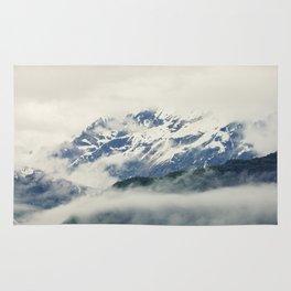 Mountains and Fog Rug
