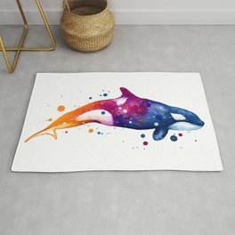 Orca Whale Rug