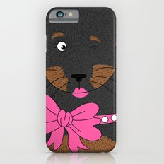 Dog Love,  kids wall art, Cute, fun prints of animals in love, Mix and Match Them!! iPhone 6s Slim Case