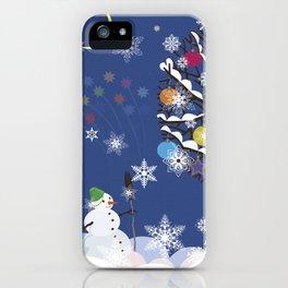 """Seasons"" Happy New Year iPhone Case"