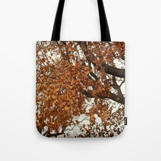 Colors Thriving As The Leaves Are Dying Tote Bag