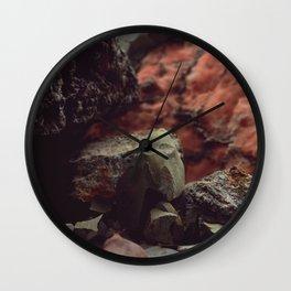 Stone mountain Wall Clock