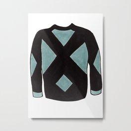 Season 2, Episode 10 (full sweater) Metal Print