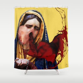 Chastity Shower Curtain