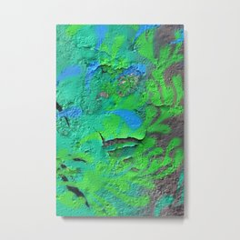 Green Entropy II Metal Print