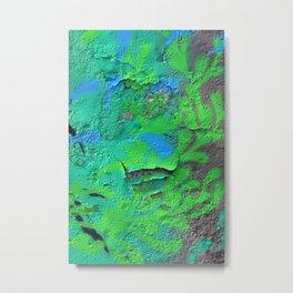 Green Entropy II Metal Print