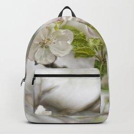 Apple Blossom Branch Backpack