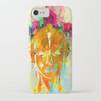 metropolis iPhone & iPod Cases featuring METROPOLIS by DIVIDUS