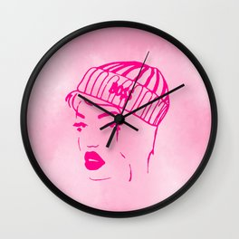 Hip Hop Girl 2 Wall Clock