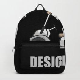 Golf Golfer Designated Driver Golf Card Backpack