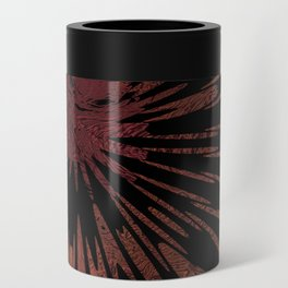 Native Tapestry in Burnt Umber Can Cooler