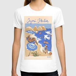 Capri, Italia T-shirt