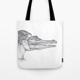 The Alligator Mask Tote Bag