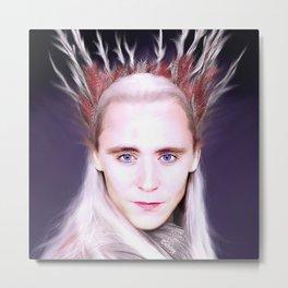 Loki - There Are No Men Like Me XV Metal Print