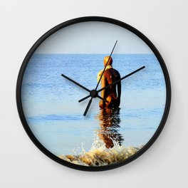 Out of the Blue Wall Clock