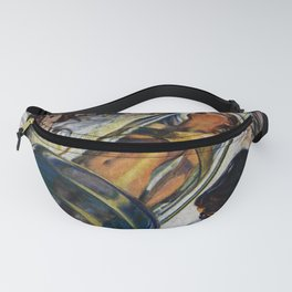 Vintage Sci-Fi (Science Fiction) Illustration Fanny Pack