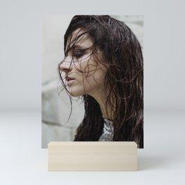 Wet Portrait Mini Art Print