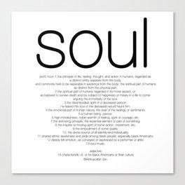 Soul T Canvas Print
