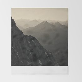 Mountain Side Color Photography Germany Europe Nature Throw Blanket