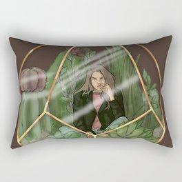 CactusGirl Rectangular Pillow
