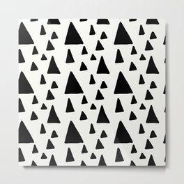 Cute Abstract Pattern 3 Metal Print