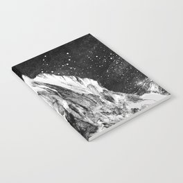 mont gore - mountain and star Notebook