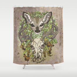 Love is a Song That Never Ends Shower Curtain