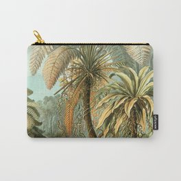 Vintage Tropical Palm Carry-All Pouch