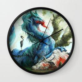 Kelpie Steed Wall Clock