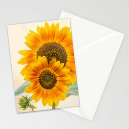 Sunflowers paterns Stationery Cards